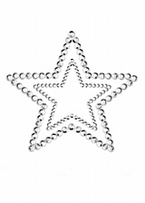 Nippies Mimi Star Silver